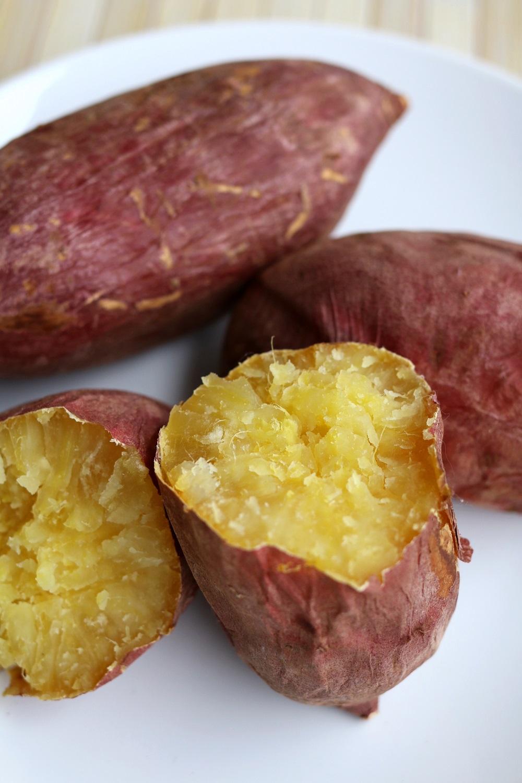 Baked Japanese Sweet Potato Yam
