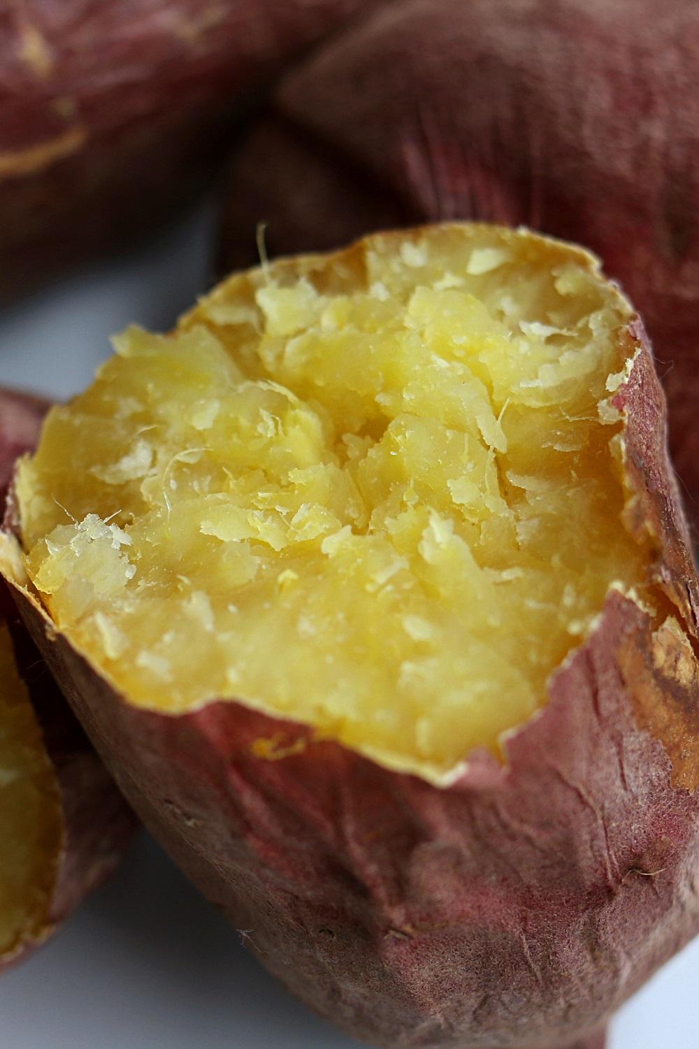Baked Japanese Sweet Potato 2