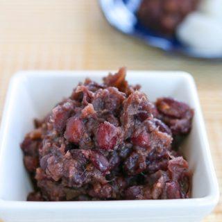 Sweet Red Bean Paste (Tsubuan)