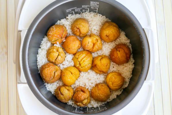 chestnut-rice