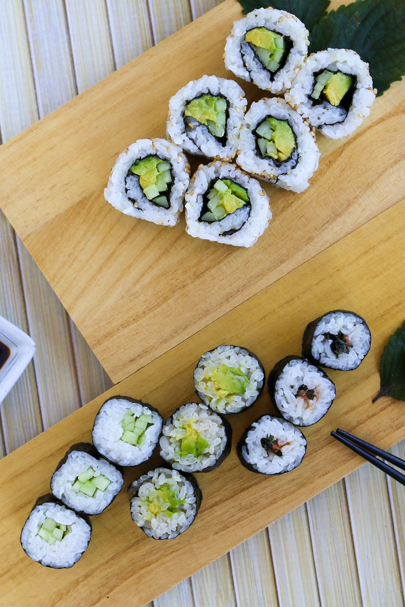sushi rice The history of sushi began with paddy fields in asia, where fish was fermented with salt and rice, after which the rice was discardedthe dish is today known as narezushi, and was introduced to japan around the yayoi period.