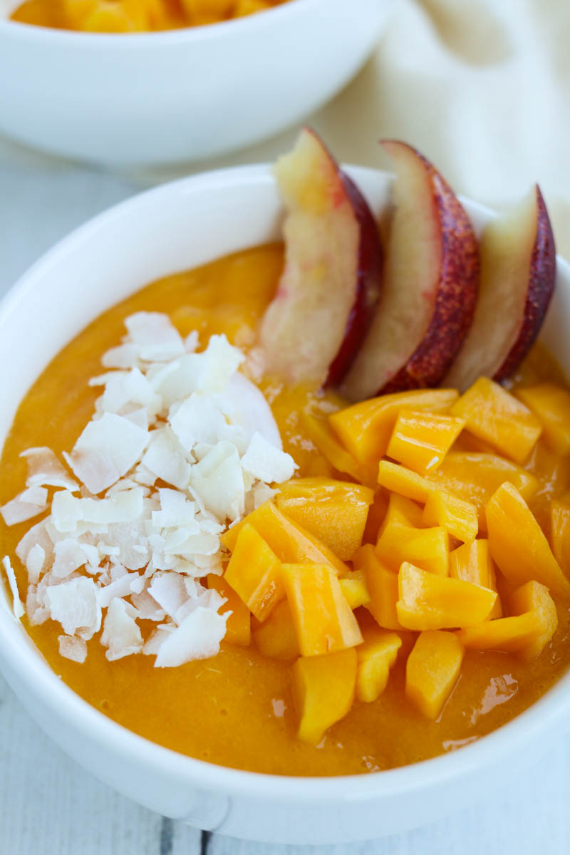 Jackfruit-Nectarine-Pudding