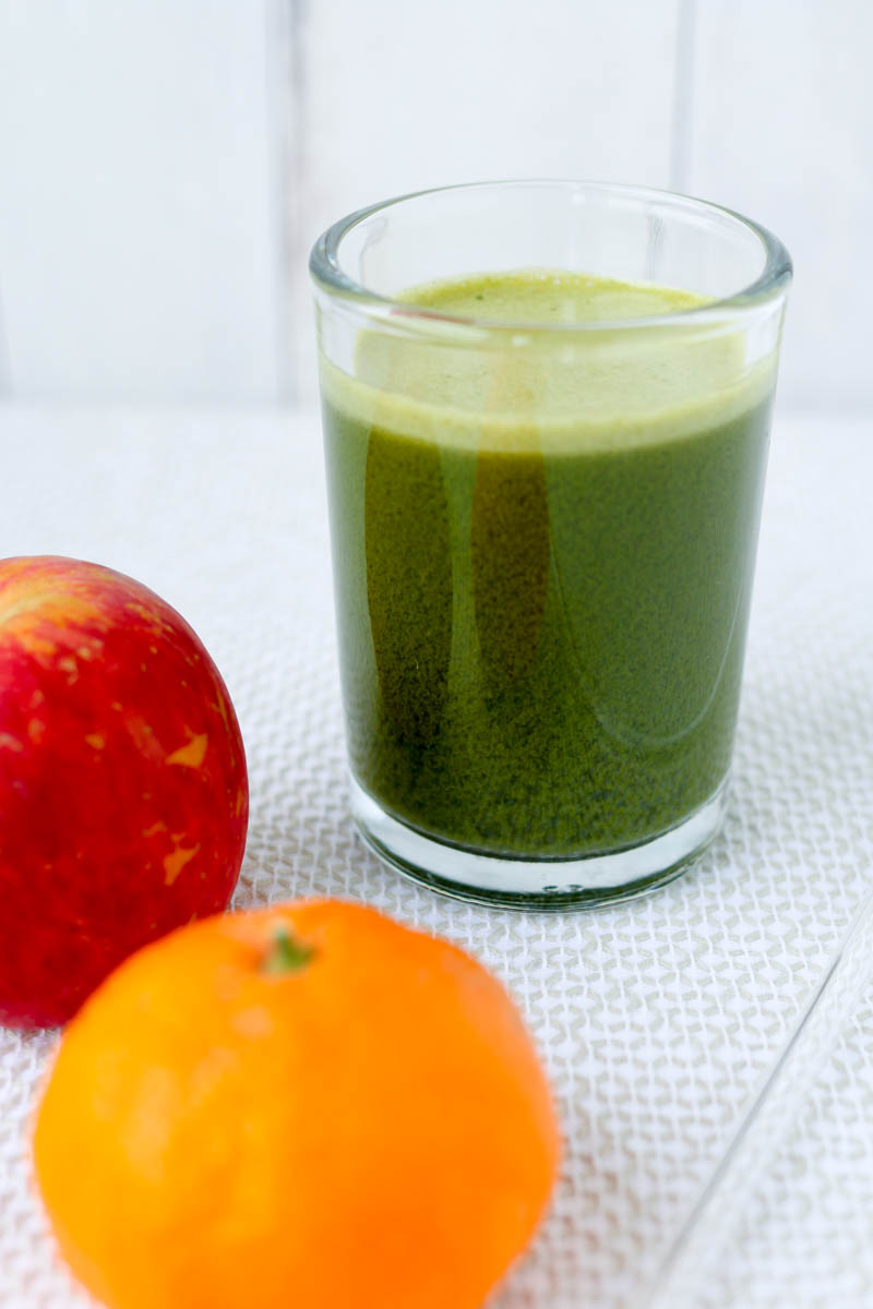 Kale Carrot Apple Mandarin Juice